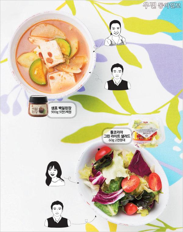 여성동아 먹방단이 떴다! 4월의 베스트 시판 음식을 찾아라!
