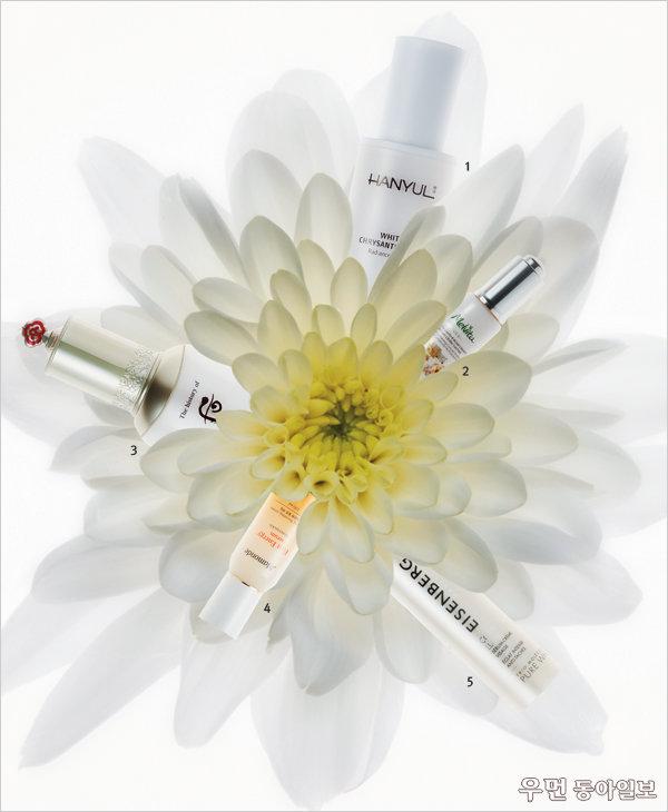 꽃 성분이 피부를 아름답게 변화시킨다~ Flower Effect
