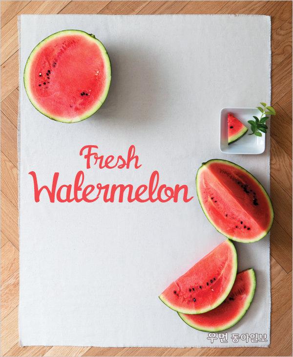 Fresh Watermelon~ 꼭지 없는 수박이 맛있다!