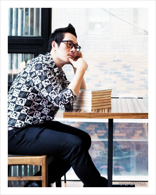 만화가 김풍! '찌질의 역사'와 '냉장고를 부탁해' 사이