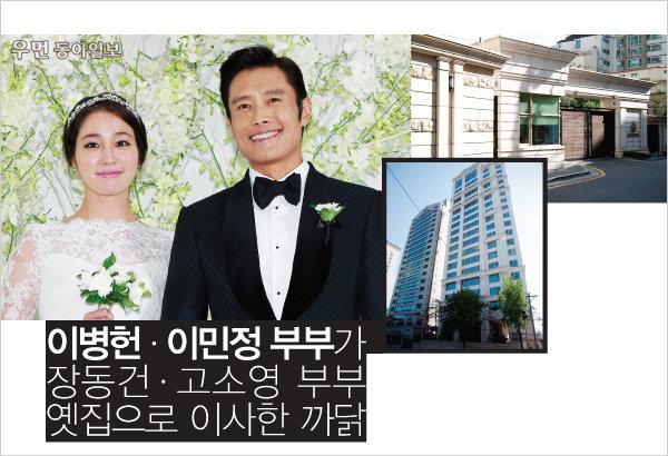 이병헌 · 이민정 부부가 장동건 · 고소영 부부 옛집으로 이사한 까닭