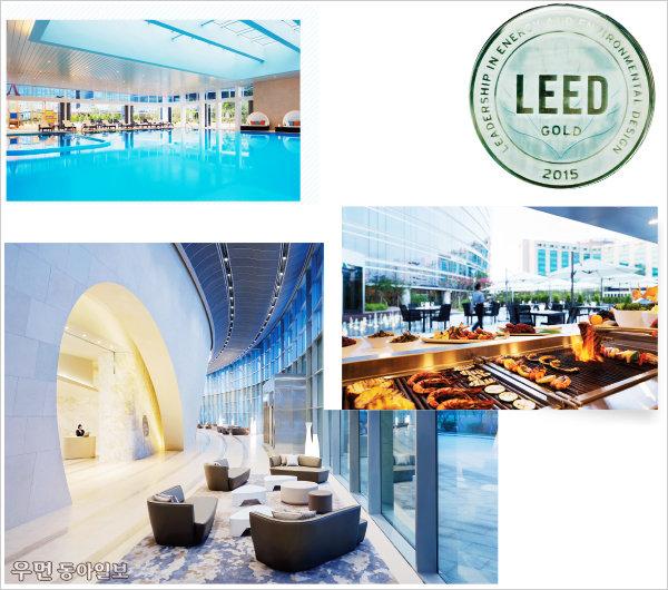 LEED 골드 등급 획득으로 친환경 건축물 인증받은~ 그랜드 하얏트 인천 웨스트타워에서 보낸 하루