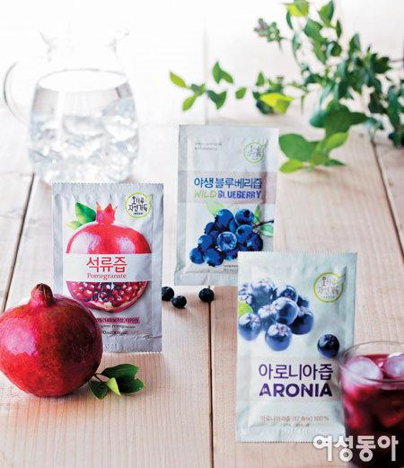 자연 담은 건강 음료 '오하루 자연가득'