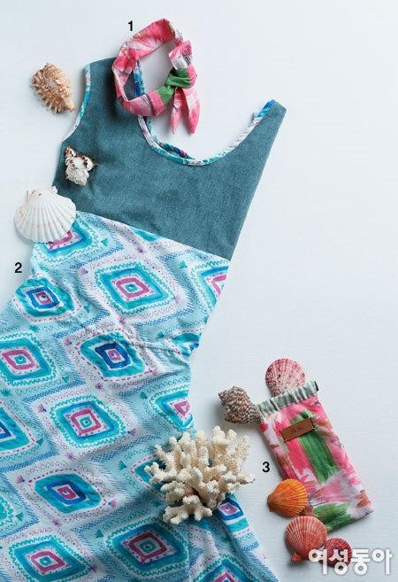여름 바다를 닮은 Vacance Sewing Item