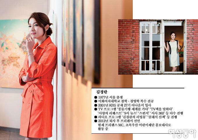 김상민 의원과 결혼 후 첫 인터뷰 김경란