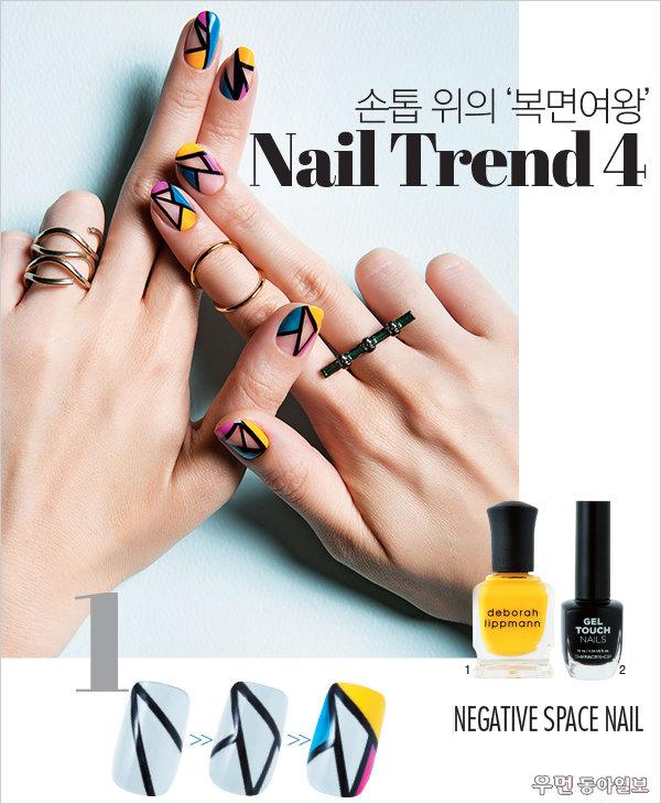 손톱 위의 '복면여왕'~ Nail Trend 4