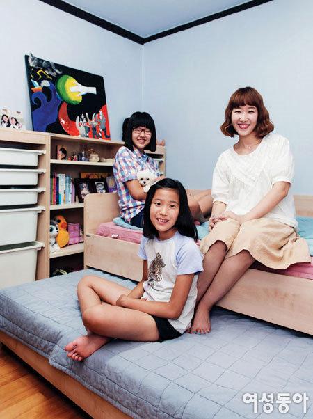 꿈 많은 사춘기 소녀들의 공부방