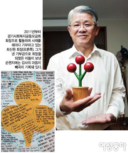 '기부영웅' SKC 최신원 회장 여성들에게 전하는 힐링 메시지