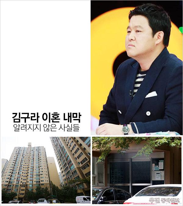김구라 이혼 내막 & 알려지지 않은 사실들