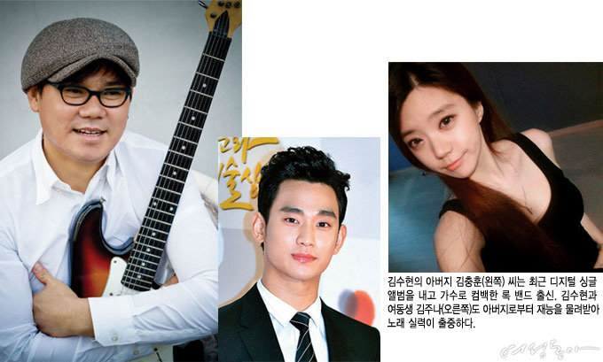 이복동생 등장, 김수현의 진짜 가족사