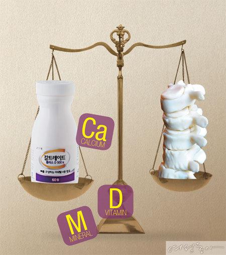 칼슘 · 비타민 D · 미네랄로 '뼈 밸런스' 잡기