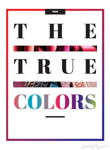 THE TRUE COLORS