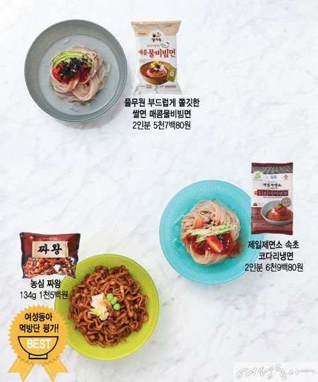 베스트 시판 면 요리대첩