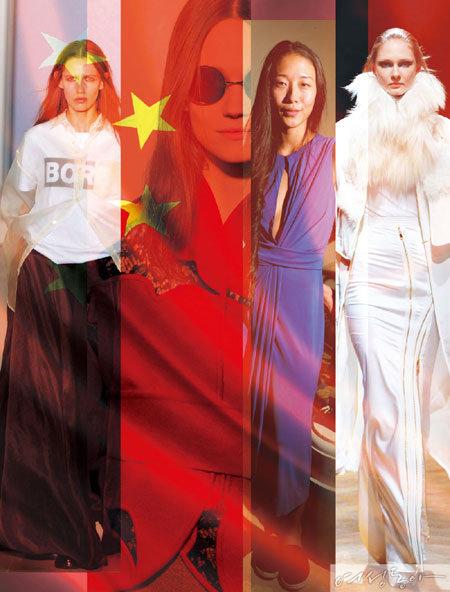 중국 패션, 이미 세계 정상에 오르다
