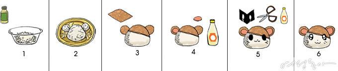 빵~터지는 캐릭터 도시락