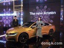 폭스바겐코리아, 가장 아름다운 세단 '아테온' 출시… 가격 5200만원부터