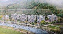양평 용문산-계곡 낀 테라스 하우스