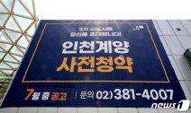 """""""위례·성남 보다 저렴""""…인천계양 사전청약 통장 4만개 몰린 이유"""