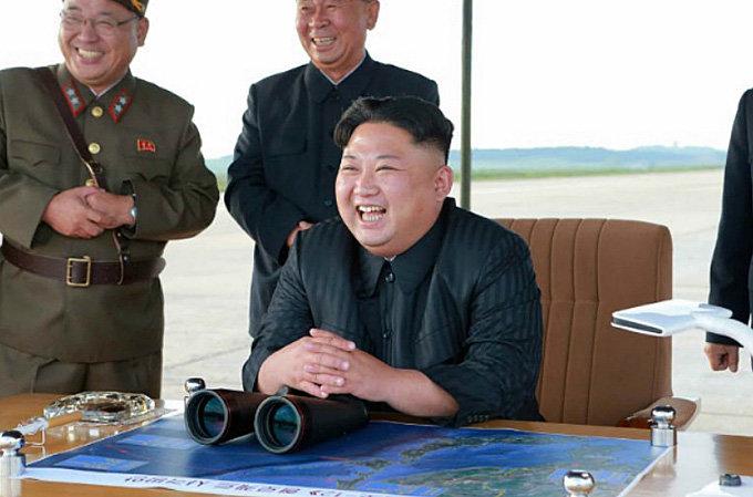 9월 15일 일본 상공을 통과해 북태평양으로 떨어진 중장거리탄도미사일(IRBM) '화성-12형