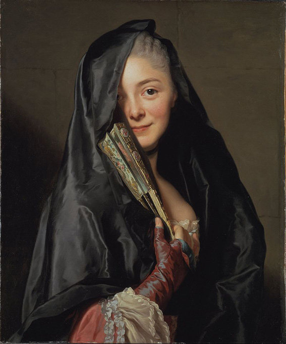 Alexander Roslin, 'The Lady with the Veil', 1768