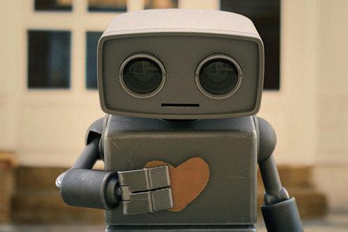 현대해상 기업이미지 광고 모델인 '마음봇'[REX]