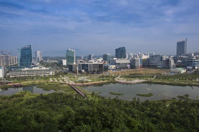 광주·전남 공동 혁신도시 전경[조영철 기자]
