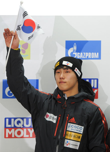 슬라이딩 센터의 아이언맨, 윤성빈 [뉴스1]