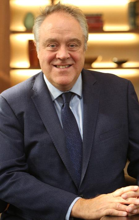 EU의회 의원 출신의 리처드 하윗 IIRC CEO. [KPC 제공]
