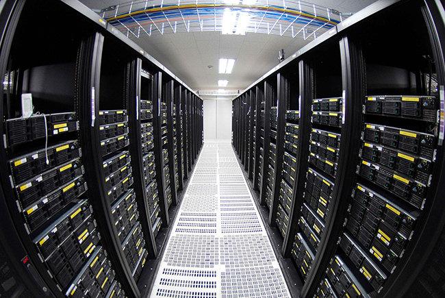 경기도 성남시 분당에 위치한 효성 ITX의 IDC 센터. 빅데이터 분석기술로 고객과의 상담내용을 분석해 고객별로 맞춤 서비스를 제공하고 있다. [사진제공·효성]