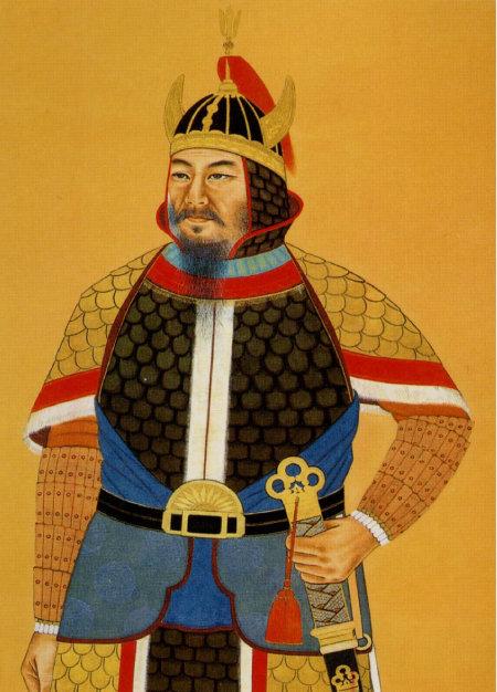 김유신의 초상화. 신라 지배층에선 근친혼이 보편적이었다. 김유신 또한 자신의 조카 지소 공주를 아내로 맞이했다.