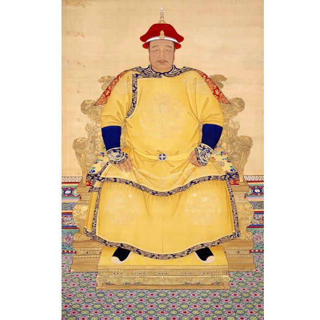 청(淸) 황제 홍타이지.