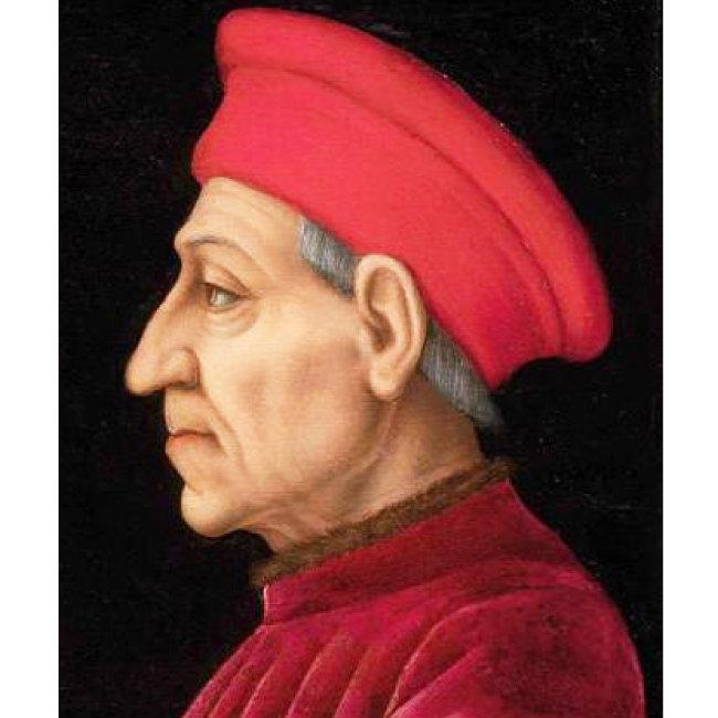 이탈리아 피렌체 메디치가의 사생아, 코시모 데 메디치. 성직을 통해 출세의 기회를 잡은 인물이다.
