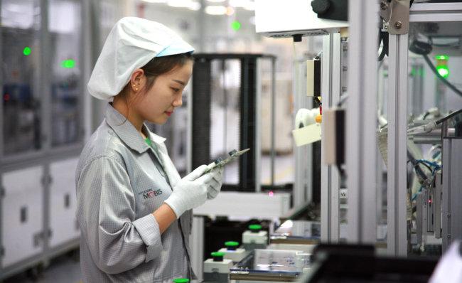현대모비스 중국 톈진공장.