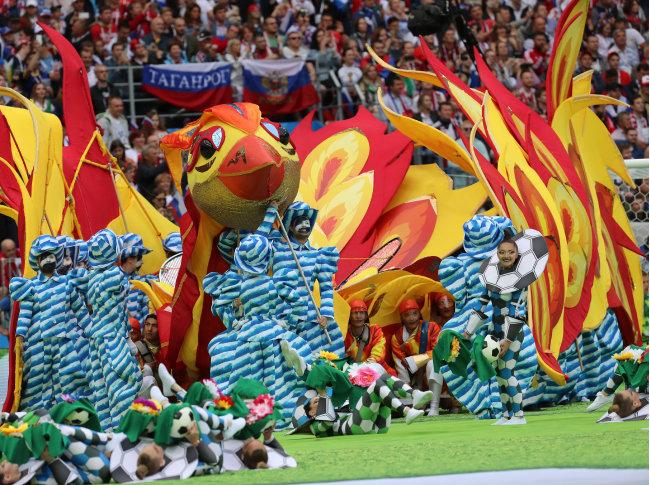 6월 14일 러시아 월드컵이 개막했다.