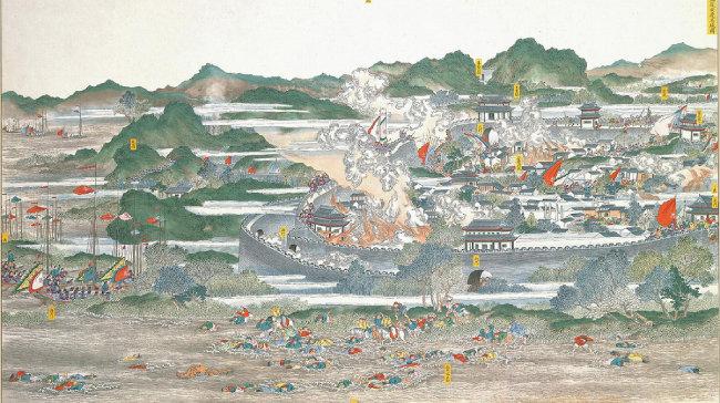태평천국의 난(太平天國之亂, Taiping Rebellion)은 1850~1864년 중국 대륙에서 벌어진 대규모 내전이다. 교전 상대는 만주족 황실의 청나라 조정과 구세주 사상을 기반으로 한 종교국가 태평천국이었다.