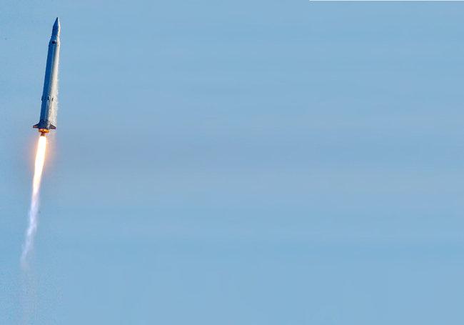 한국 최초 우주발사체 나로호. [뉴시스]