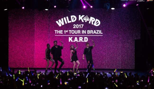 브라질 등 남미에서 큰 인기를 자랑하는 KARD. [DSP 미디어 제공]