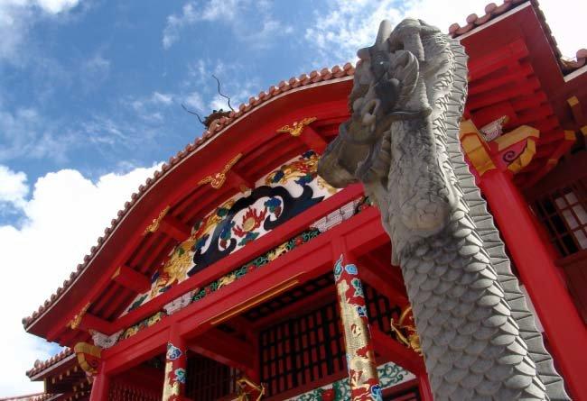 일본에 복속당해 450여 년 왕조가 끝장난 류큐 왕국의 '슈리성'. [동아DB]