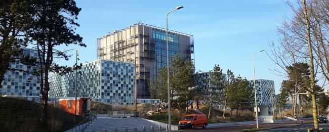 네덜란드 헤이그 국제형사재판소 청사. [위키피디아]