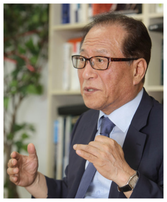 정세현 전 통일부 장관.
