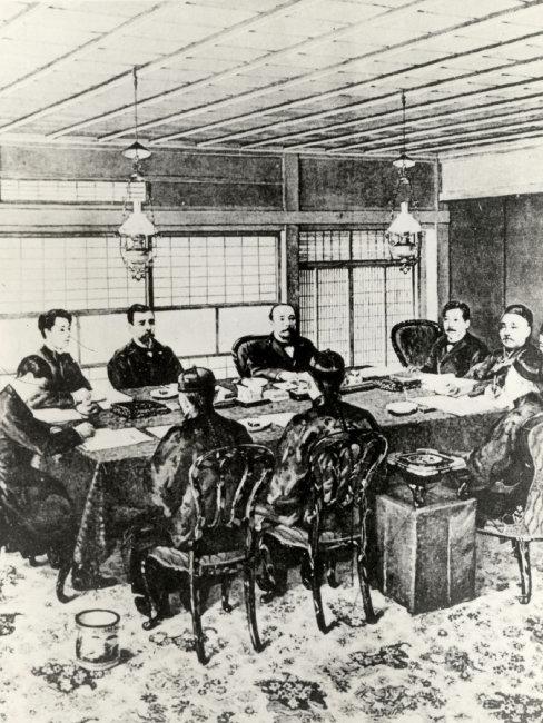 시모노세키조약은 1895년 조인됐다. [동아DB]