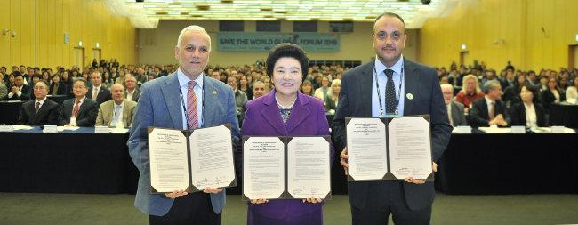 국제위러브유는 10월 31일 이라크연합의료협회, 요르단하심자선기구와 인도주의적 협력을 위한 양해각서를 체결했다.