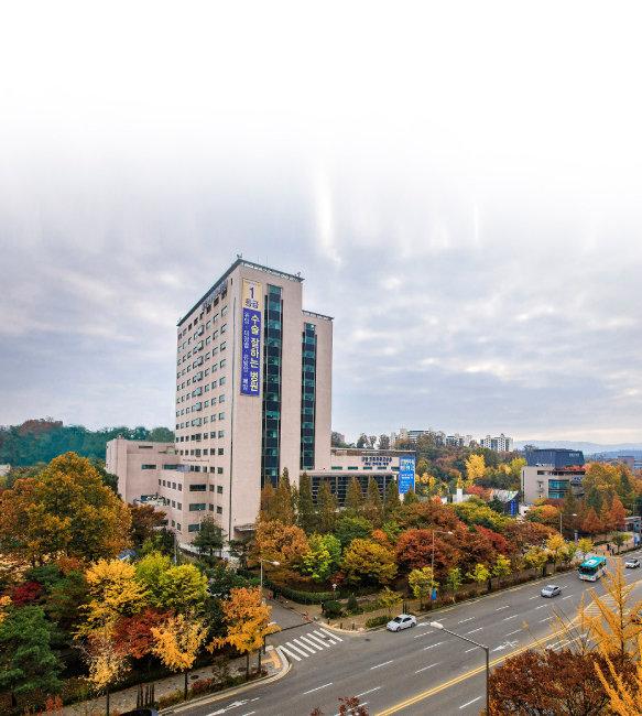 강동경희대병원 전경.