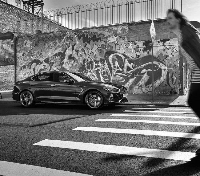 BMW 맞수, 제네시스 'G70' 시승기
