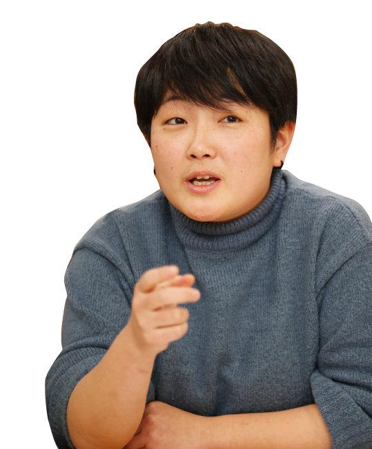 정혜연 정의당 청년본부장 [김형우 기자]