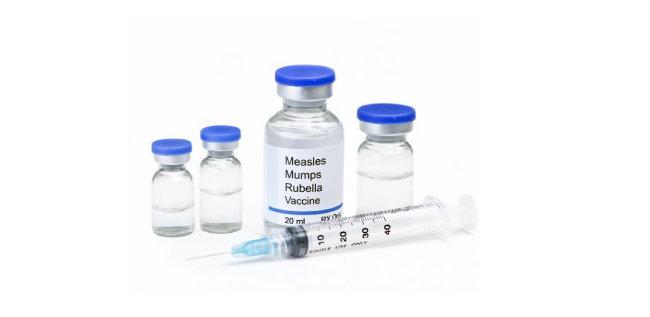 MMR 백신.