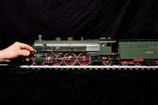 독일 BRS3/36 모형.