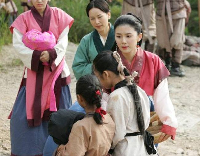 SBS드라마 '서동요'의 한 장면.