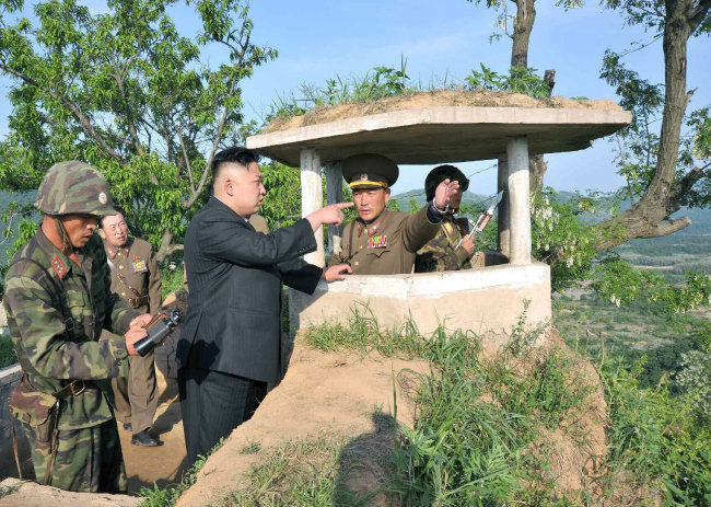 광덕산 축선 : 통일대전 부산 점령 침공로 [조선중앙TV캡처]