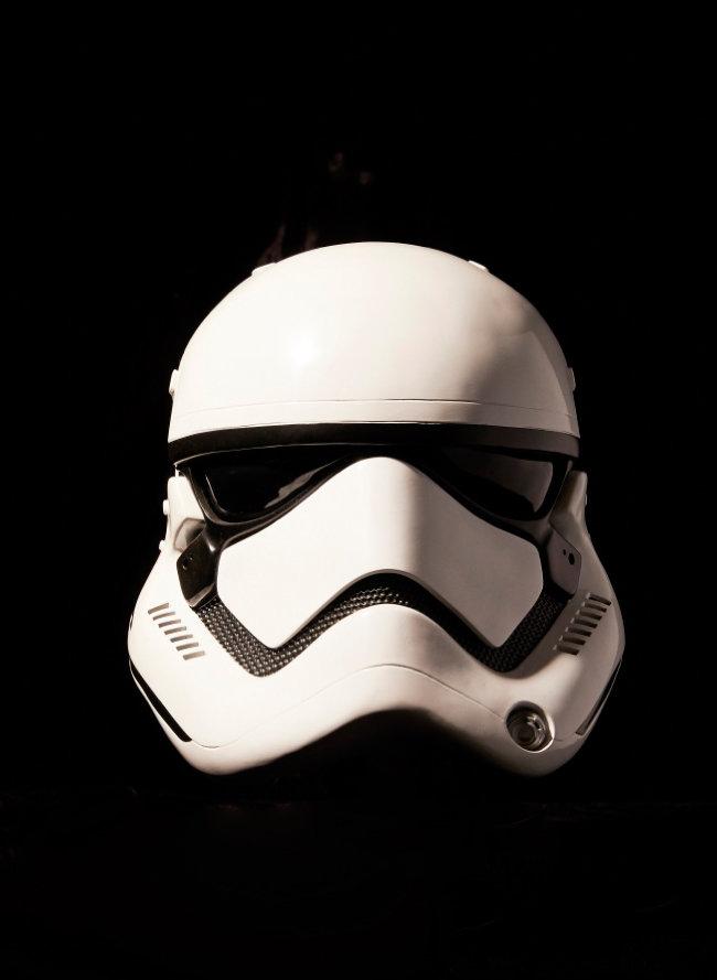 제국군 병사 스톰 투루퍼의 헬멧.
